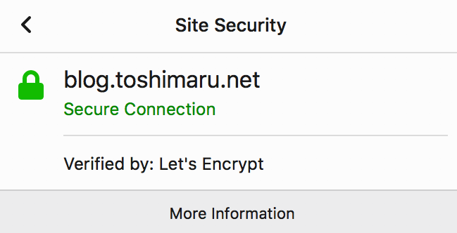 let's encrypt certification